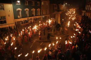 Annual Lewes Bonfire Night Parade