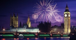 London Fireworks Display for Bonfire Night