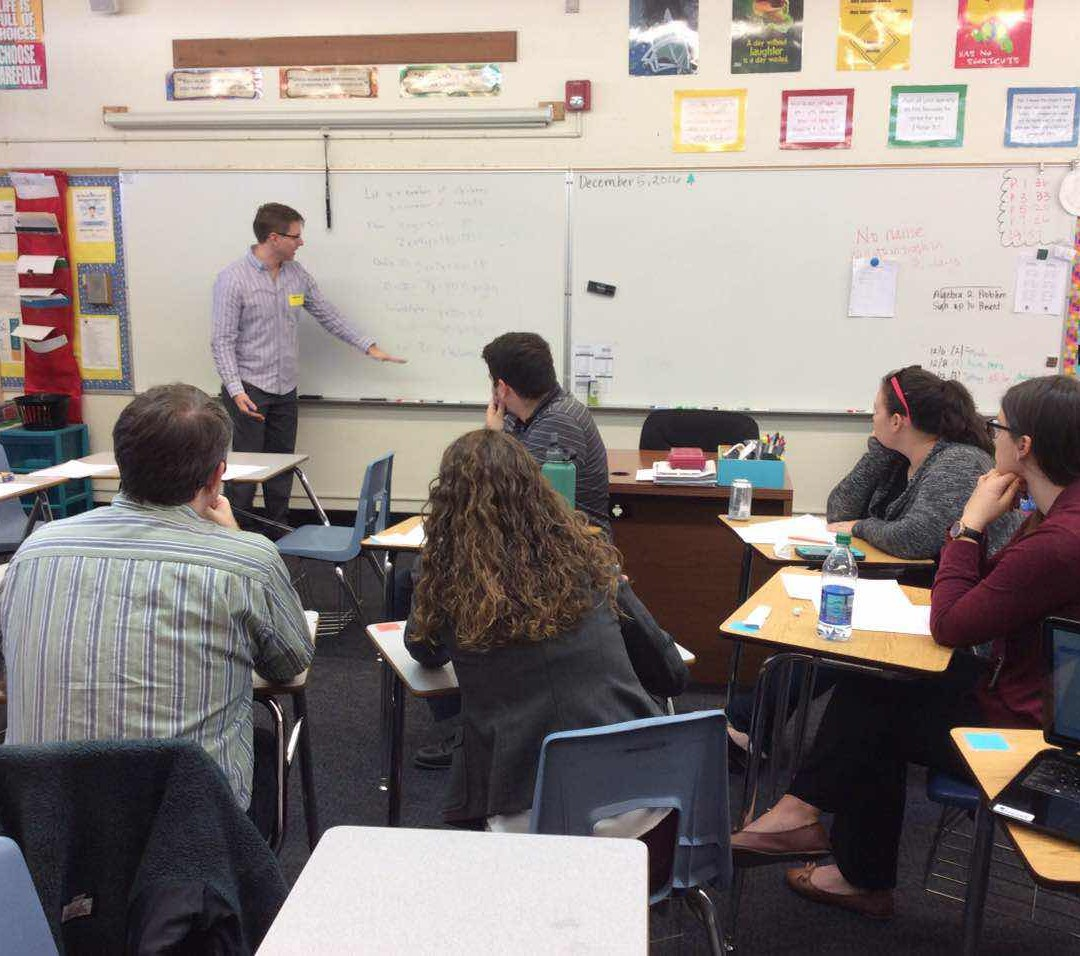 High School Teacher Training Workshop Held at Local High School!