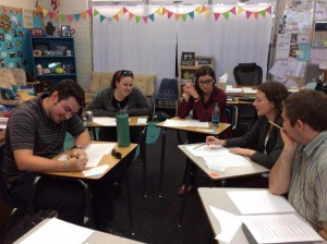 Teachers Engaged during Areteem Training Workshop