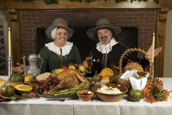 Pilgrims and Pies 2 (An Historical Feast of Thanksgiving History and all of the Giblets!) – Main Course and Desserts