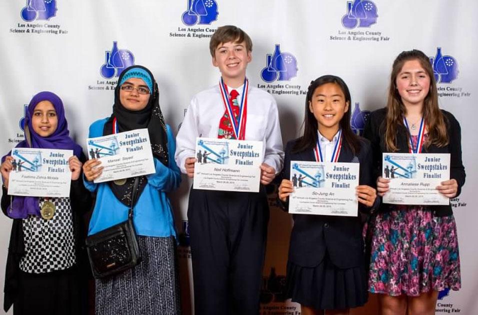Junior Science Fair Winners