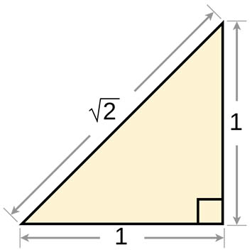 Square Root of 2 Triangles