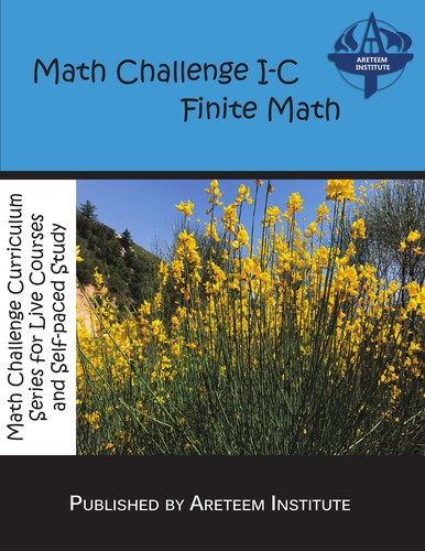 Math Challenge I-C Finite Math